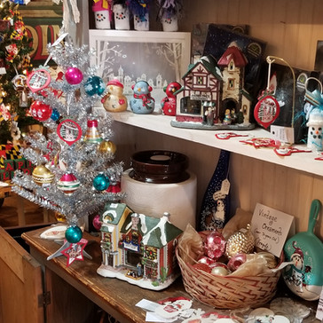 New & Antique Christmas Ornaments