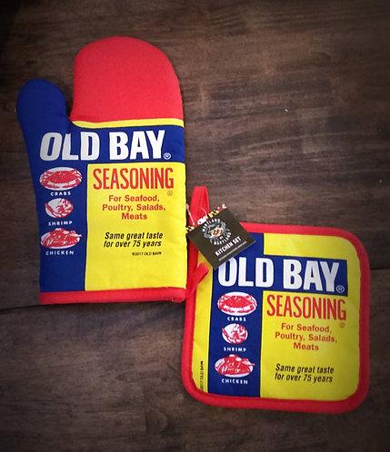 Old Bay Pot Holder/Mitt