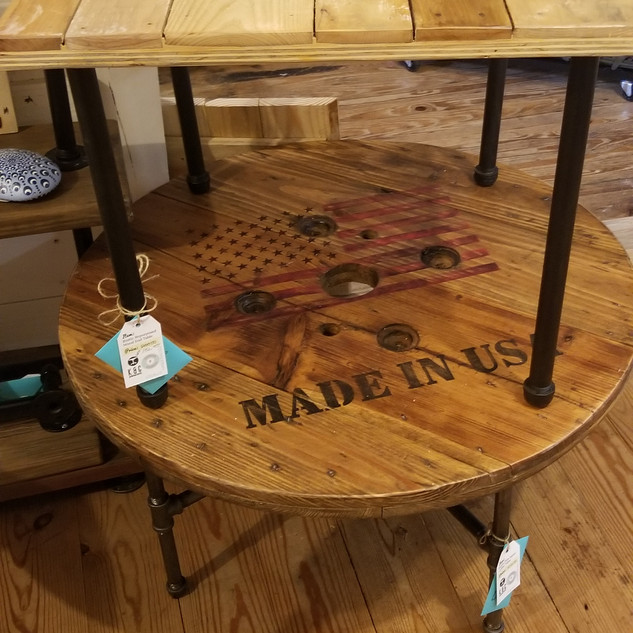 Recycle Repurposed End Tables & Coffee Tables