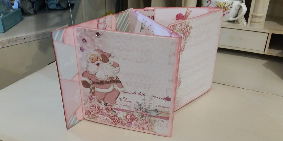 Santa Baby Mini Book