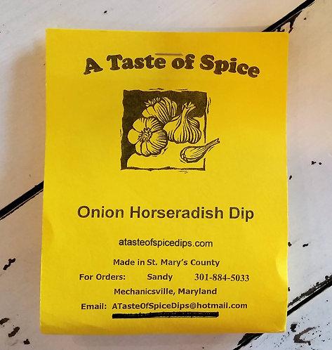 Onion Horseradish Dip
