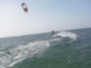 Kiteboarding-Riding