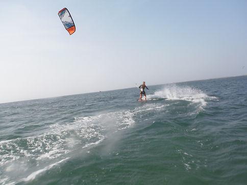 Kiteboarding-Riding