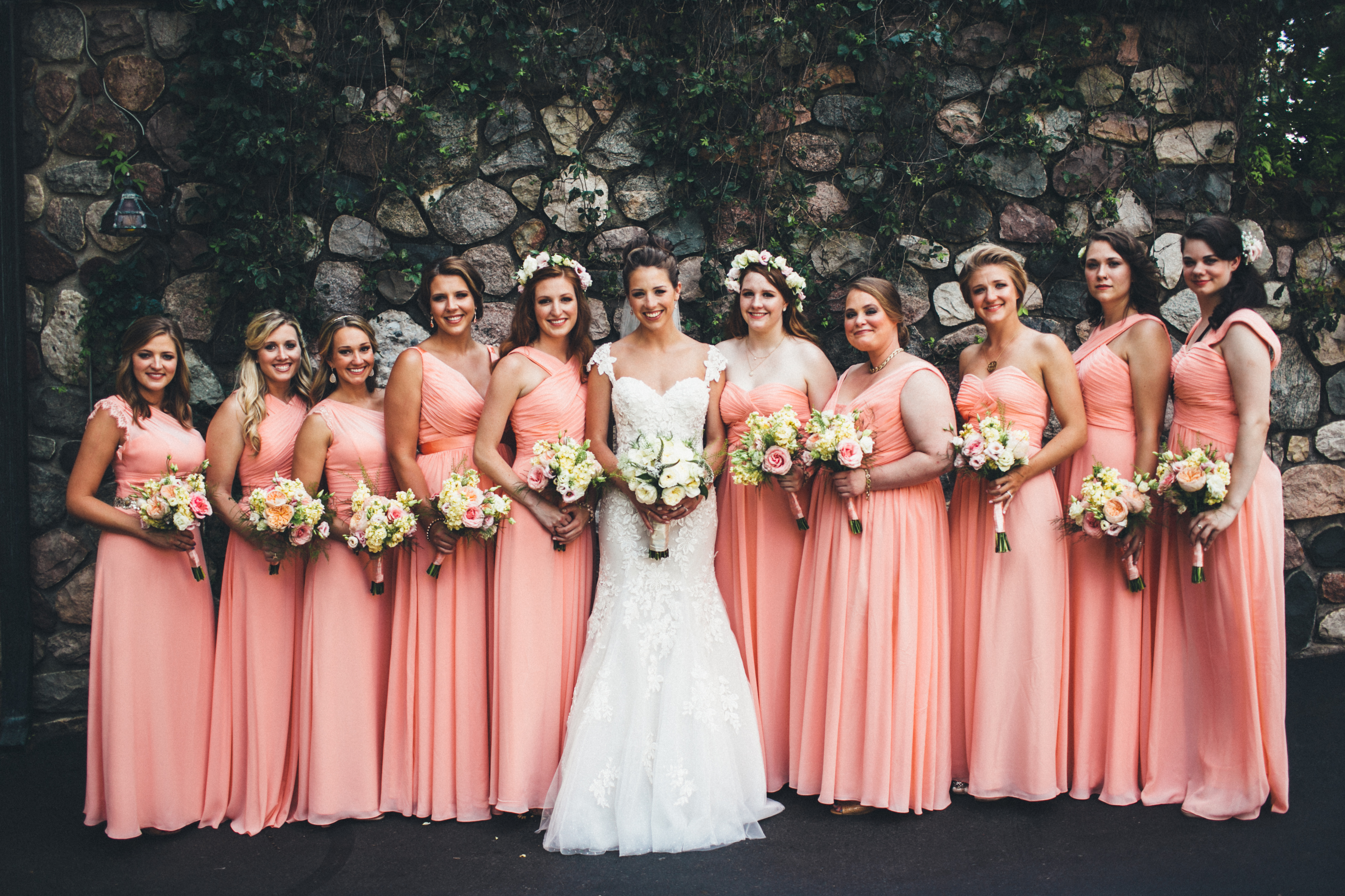 Cronin & Bridal Party 2015