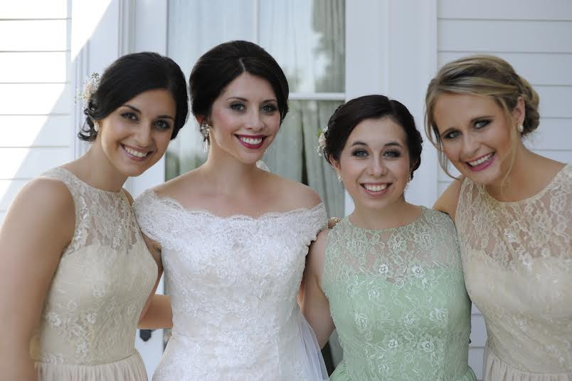 Stephanie and Bridal Party 2014