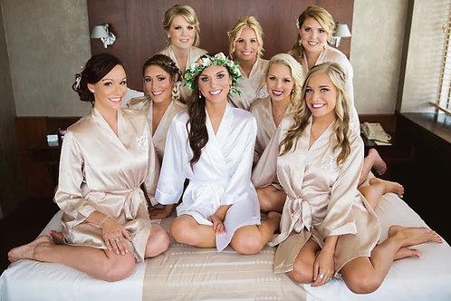 Bridal Party & Family Makeup Deposit (+ Trial)