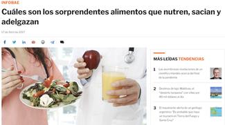Alimentos que Nutren y Sacian