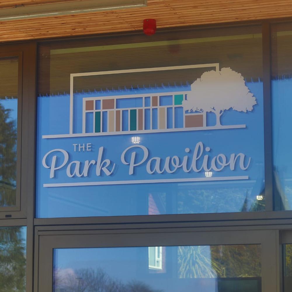 The Park Pavilion Signage