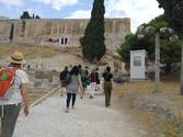 Visite guidée à l'Acropole
