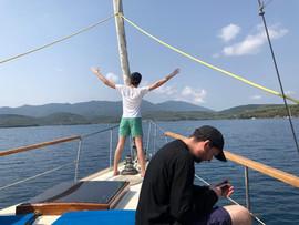 visite en bateau...