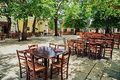 Lafkos square, Pelion