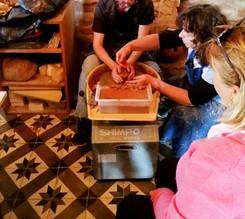 Atelier de poterie,