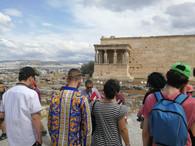 Visite guidée de l'Acropole par un archéologue