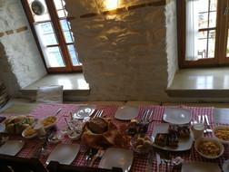 petit-déjeuner grec