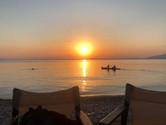la plage de Milina
