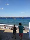 île de Spetses,  Au bord de la mer