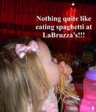 Victoria's Spaghetti night.