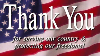 Veterans Day, 1st responders and Educators 10% Discount!!!.