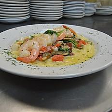 Creamy Tuscan Seafood