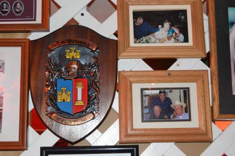 LaBruzza's Friends Wall