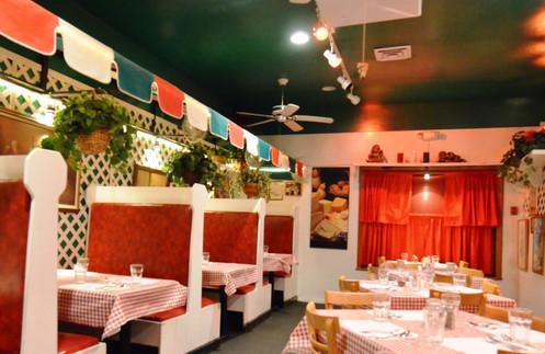 LaBruzza's Dining room.