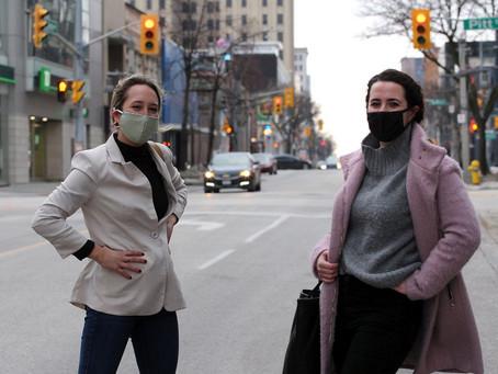 Windsor Star: UWindsor students make pandemic pivot to help at-risk women