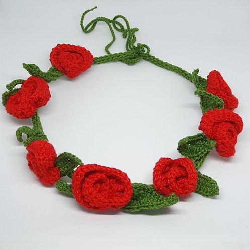 Red Flowers Crown