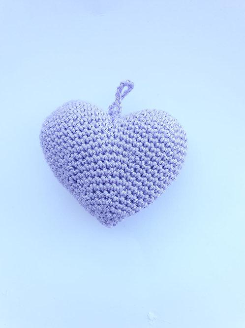 לב סגול לילך קטן