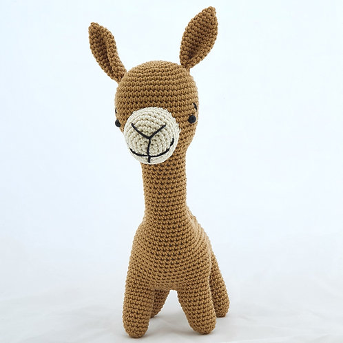 Camel Crocheted Doll