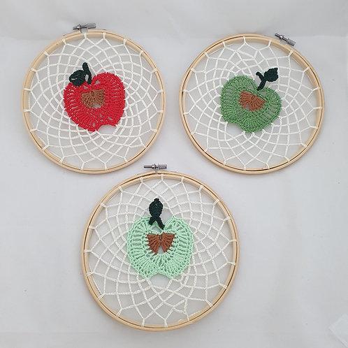 Apple Knitted Hoop