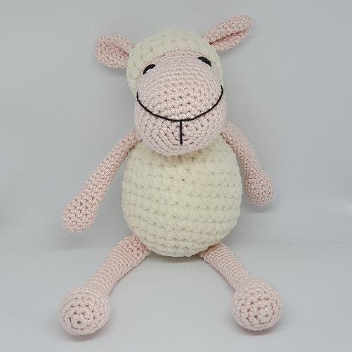 כבשה שמנת ורודה