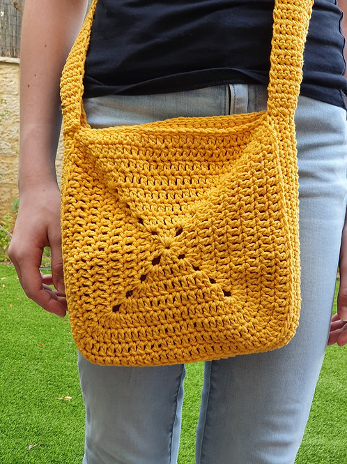 Yellow square Bag
