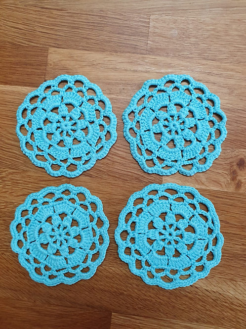 Coasters - Light blue