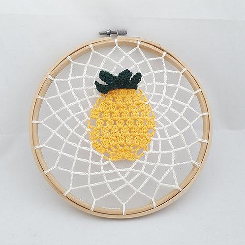 Pineapple Knitted Hoop