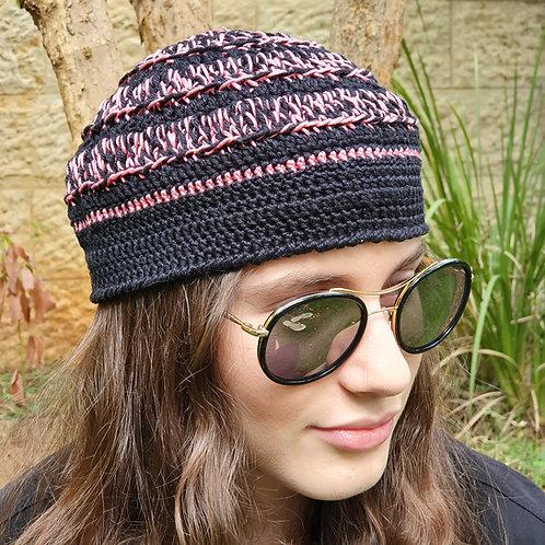 Black-Pink Hat