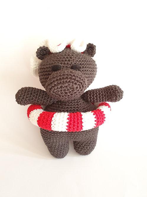 Swimmer Hippo