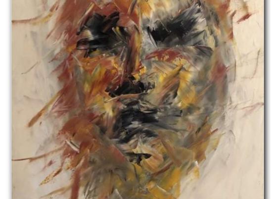"Premium Giclée Paper Print ""Embracing Chaos"", Abstract Art"