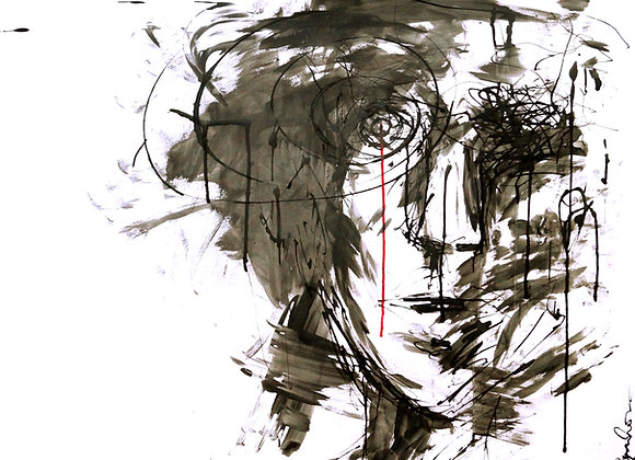 "Premium Giclée Paper Print ""Minimalistic Reality"", Abstract Art"