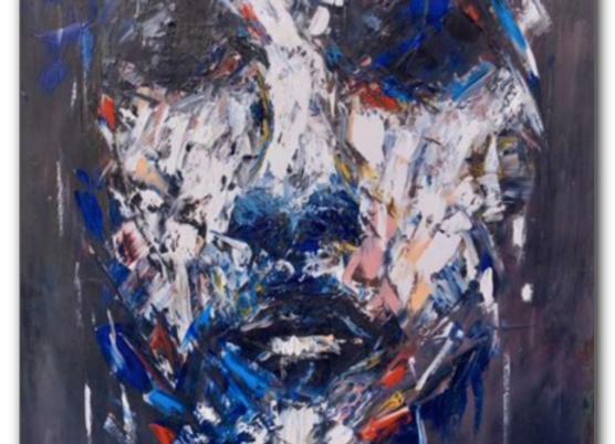 "Premium Giclée Paper Print ""Refulgence"", Abstract Art"