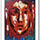 """Thumbnail: Premium Giclée Paper Print """"Paint Me in Red"""", Abstract Art"""