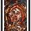 "Thumbnail: Premium Giclée Paper Print ""Rodopi Woman"", Abstract Art"