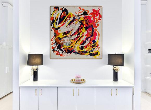 "Original Art ""Manta Ray"""