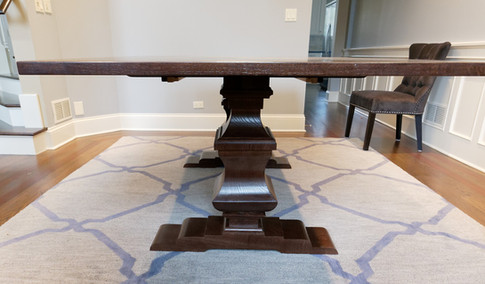 Our Cambridge Pedestal Dining Table