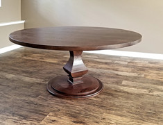 The Walden Pedestal Dining Table