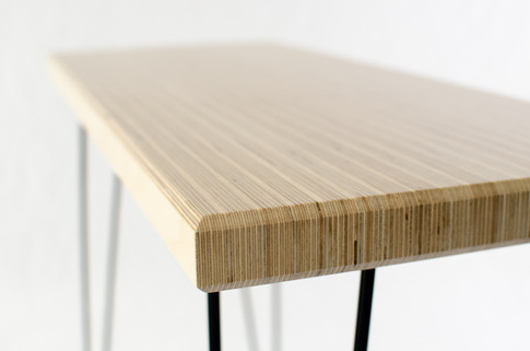 Baltic birch hall table