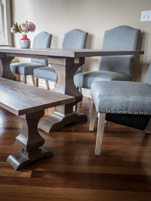 Walden Pedestal Dining Table