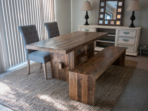 The Palmer Rustic Dining Table