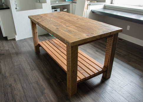 Kingston Rustic Dining Table