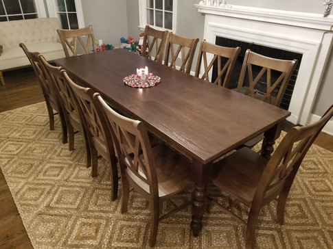 Old English Dining Table