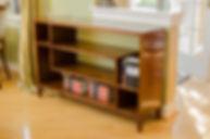 Booshelf Trucraft furniture chicago solid cherry bookcase
